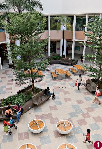 全新 天瑞商场 外貌布局耳目一新 添置户外绿色空间 特色餐饮食肆齐图片